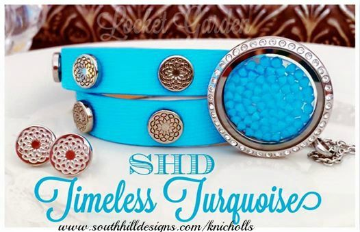 Timeless turquoise! Love this look! www.southhilldesigns.com/knicholls