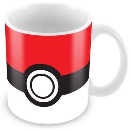 Caneca Porcelana Personalizada Pokébola Pokémon