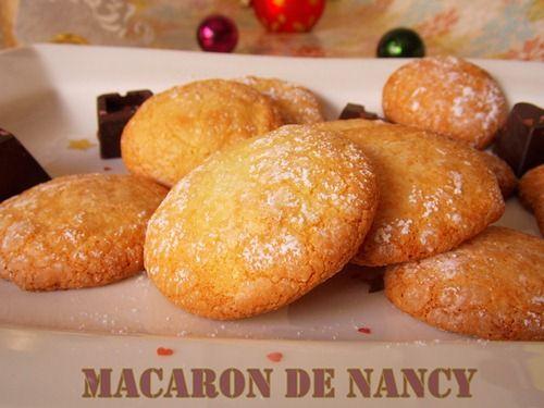 recette macarons de Nancy / cadeau gourmand pour Noel | Le Blog cuisine de Samar