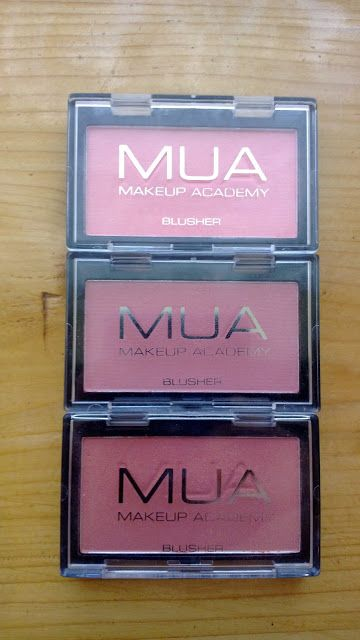 MakeUp and Messes: Review // Make Up Academy: Blush - Shades 1, 2 & 4