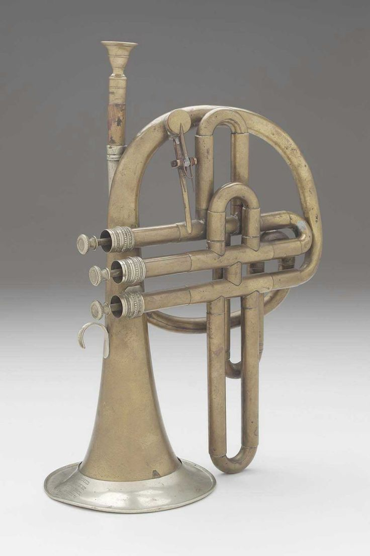 Cornet in B-flat      about 1840     Charles Pace, English, 1830–1883      London, England
