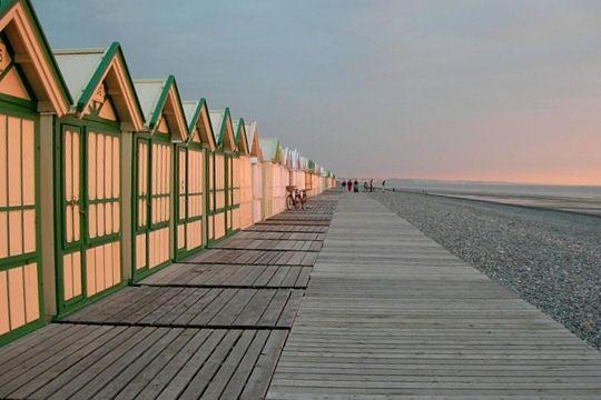 Deauville chemin de planches
