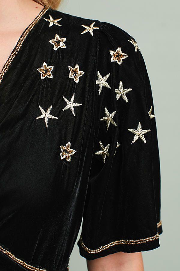 4de7ffae5b98 Celestial Embroidered Dress | Embroidery | Dresses, Fashion, How to ...