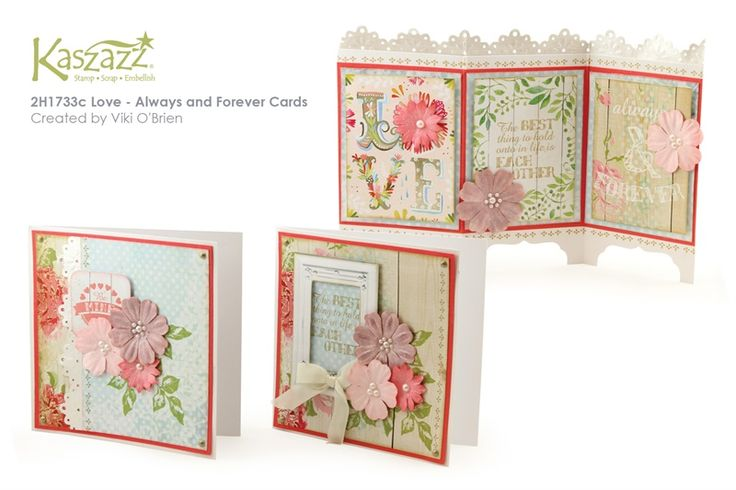 2H1733c Love - Always and Forever Cards