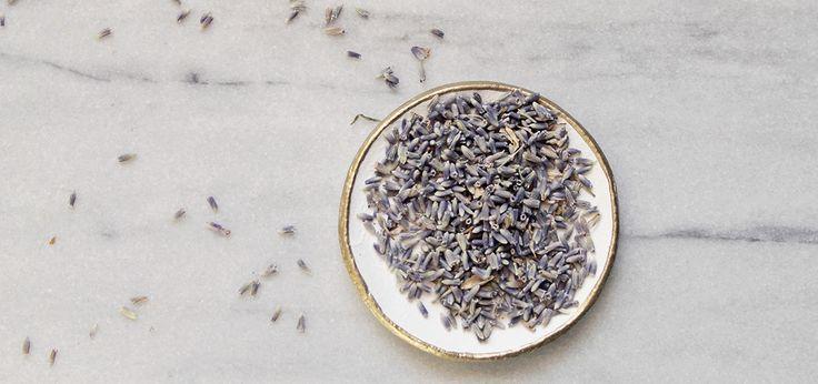 Lavender and vanilla oil spray.
