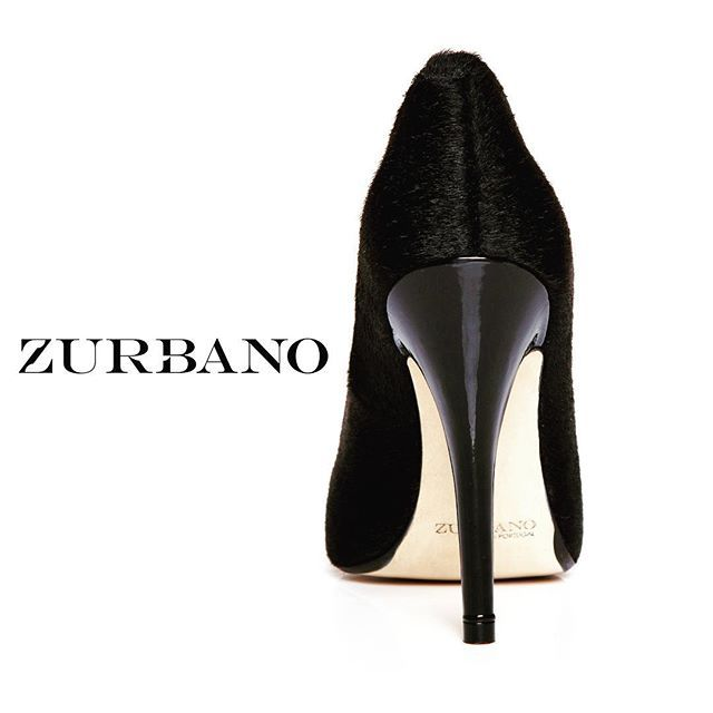 Introducing the BLACK PONEY stiletto high heels from our very first Zurbano shoe collection.