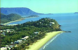 Yorkeys Knob is one of the beach suburbs of Cairns, the principal city of Far North Queensland. Yorkeys Knob got its name from George Lawson, a Yorkshire-born, Cairns-based beche-de-mer fisherman. Lawson built a homestead adjoining the Mount Buchan estate near what is now Yorkeys Knob. He used the mangroves near his homestead for the firewood and water needed for his beche-de-mer smoking station on Green Island. Locals are attached to the name, despite the reaction it sometimes gets.