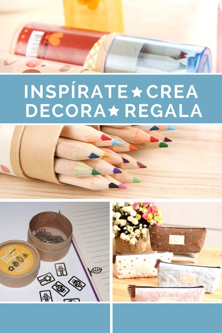 Artículos de papelería originales y divertidos, llenos de color y funcionalidad.