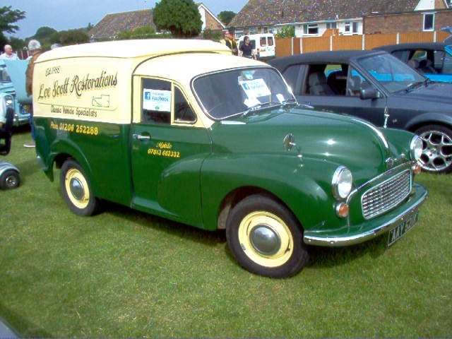 Morris Minor Van by Drax666, via Flickr