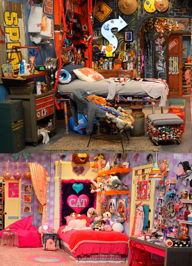 icarly bedroom. I want my room to be in between these two chooses  Best 25 Icarly bedroom ideas on Pinterest Funky teenage bedding