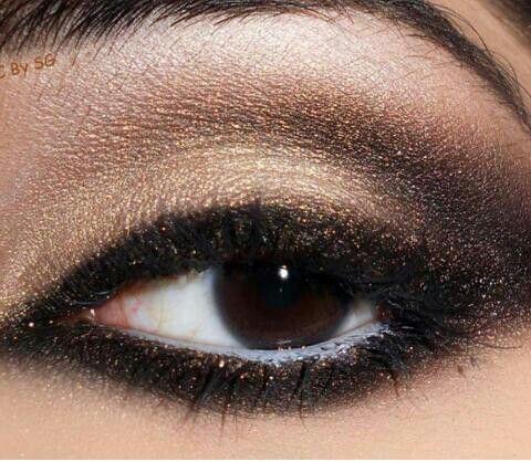 #trucco #occhi #marroni