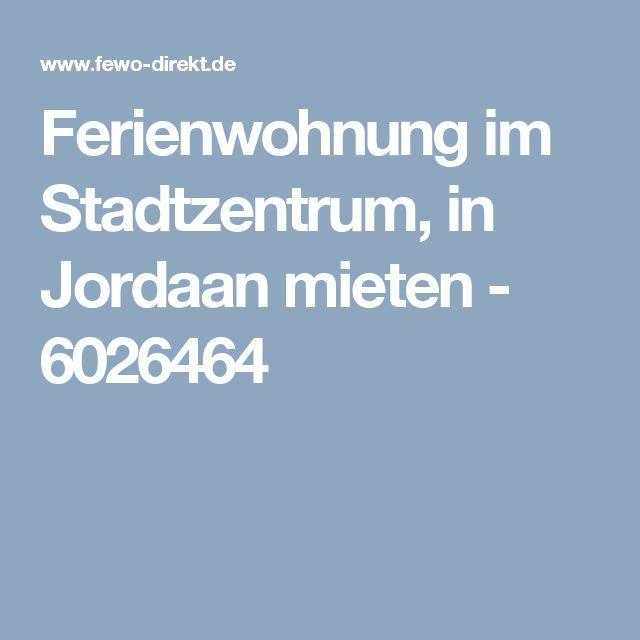 Ferienwohnung im Stadtzentrum, in Jordaan mieten - 6026464