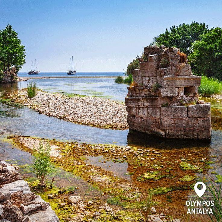 Винирніть із води, відвідайте стародавні руїни, а потім ще раз зануртесь у воду, перш ніж продовжити подорож. Мандрівка з пригодами очікує на вас на Лікійському шляху. #LycianWay