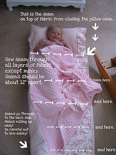 Nap mat tutorial. A great one!