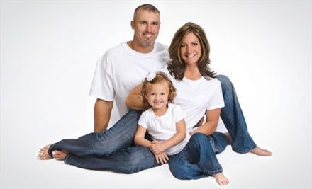 Portrait bundle with sitting fees included, 3-image CD, 2 traditional sheets, and 30% off additional purchases