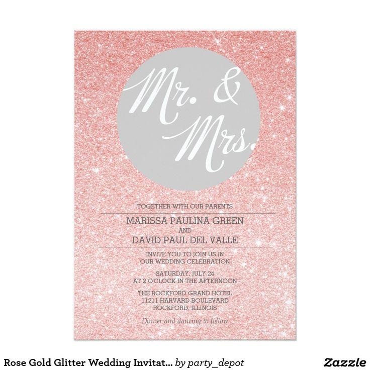 9 best Invitation letter images on Pinterest Blush gold weddings - best of invitation letter wedding