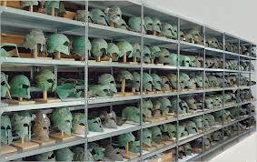 Helmets of hoplites
