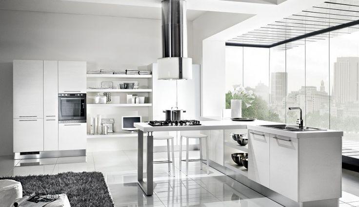 Włoska fantazja i nowoczesny styl – prezentujemy aranżację kuchni Sygna wykonanej z płyty laminowanej. Do wyboru kilka wersji kolorystycznych.