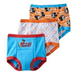 Disney Boys/' Mickey Mouse 3pk Training Pant