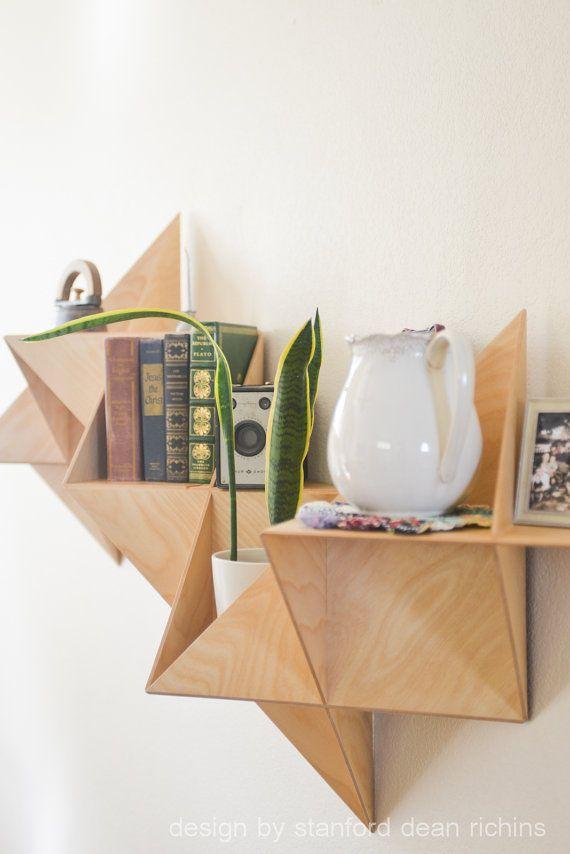 Danés moderno inspirado Modular Triangular por Designbystanford