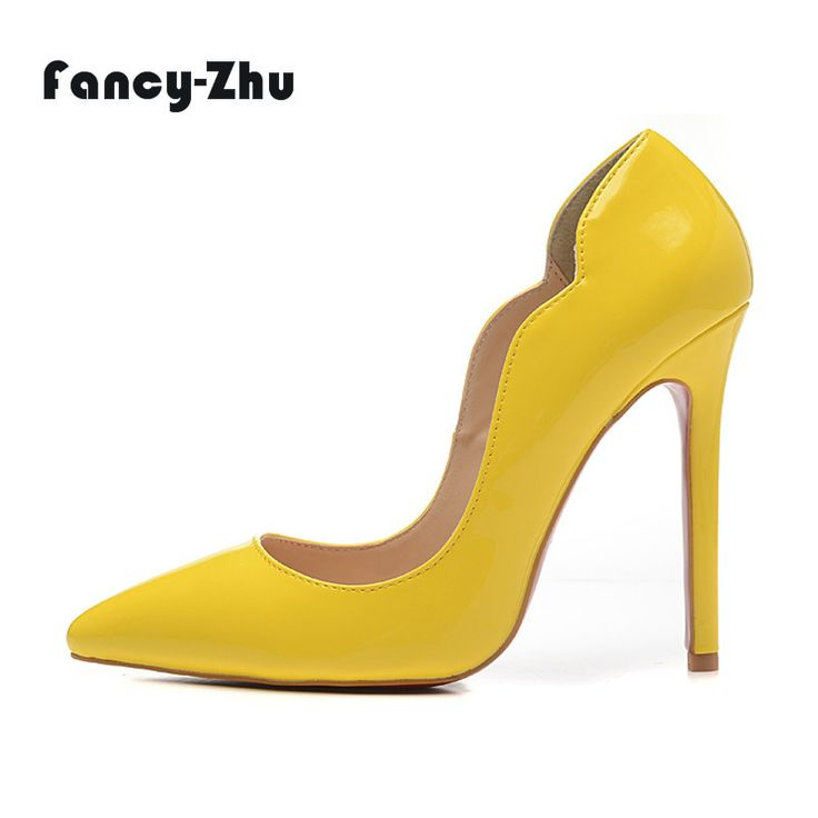 Find More Women's Pumps Information about New Womens Luxury Pointy 12cm  High Heels Design Genuine Patent Leather Fashion Pumps Wedding Dress Shoes  35 41 ...