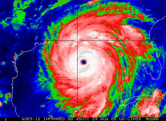 Hurricane Katrina  23-30 August 2005  Katrina was one of the most devastating hurricanes in the history of the United States. It is the dead...