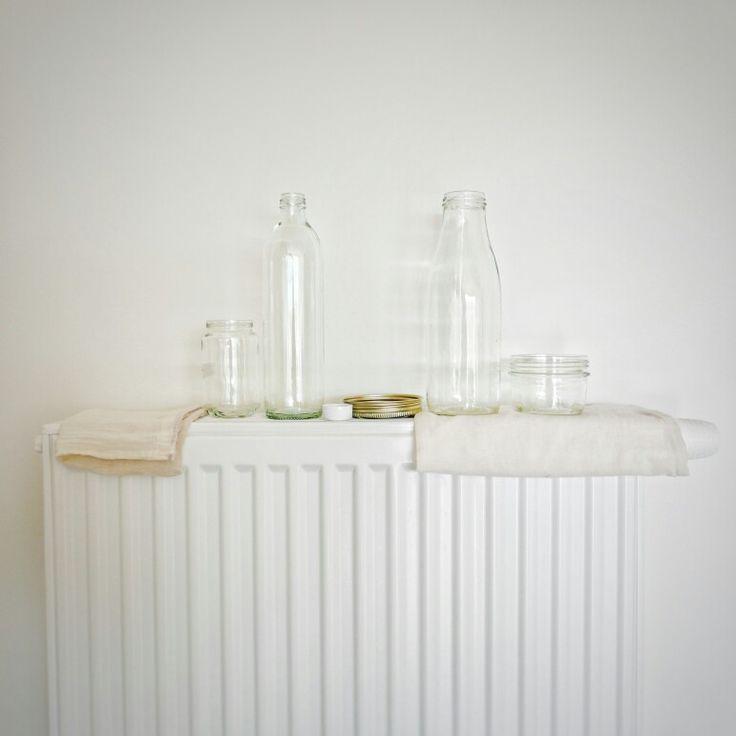 En plus d'être écologique, le zéro déchet donne l'occasion de prendre des photos esthétiques... Même après la vaisselle!