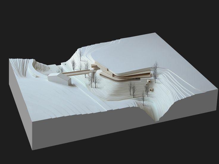 parking lot, Moena, architectural model, modulo, maqueta, maquette