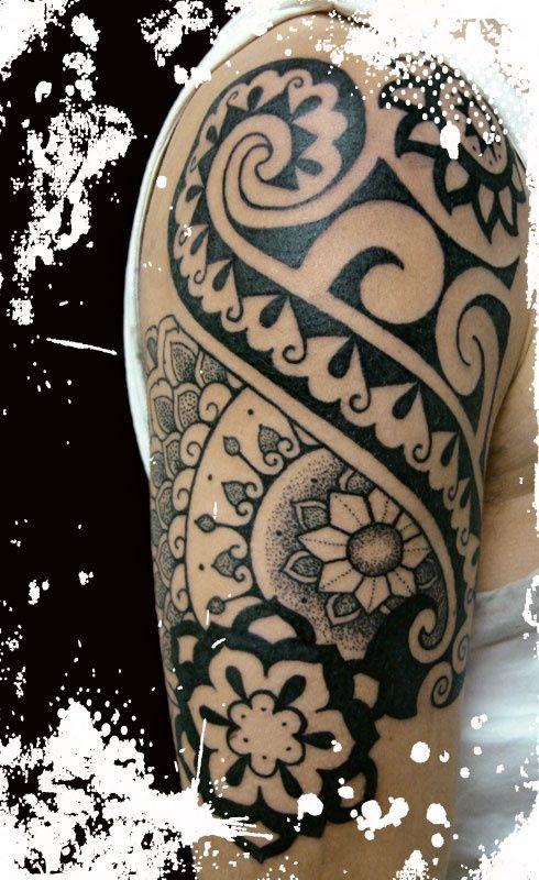 Maori Tattoo Cover Up: Maori Tattoo/cover Up Idea