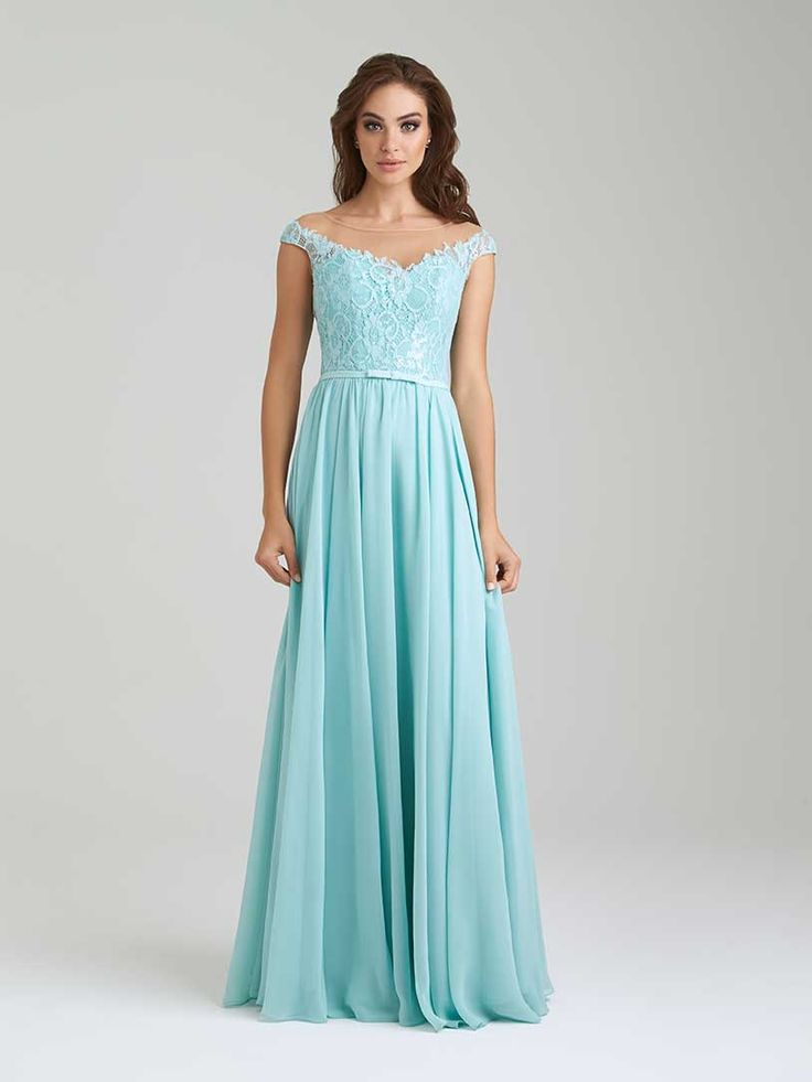 Allure 1454 - I really like the top of this dress - looks princess-y. :) Obvs not this blue color. My fav so far.