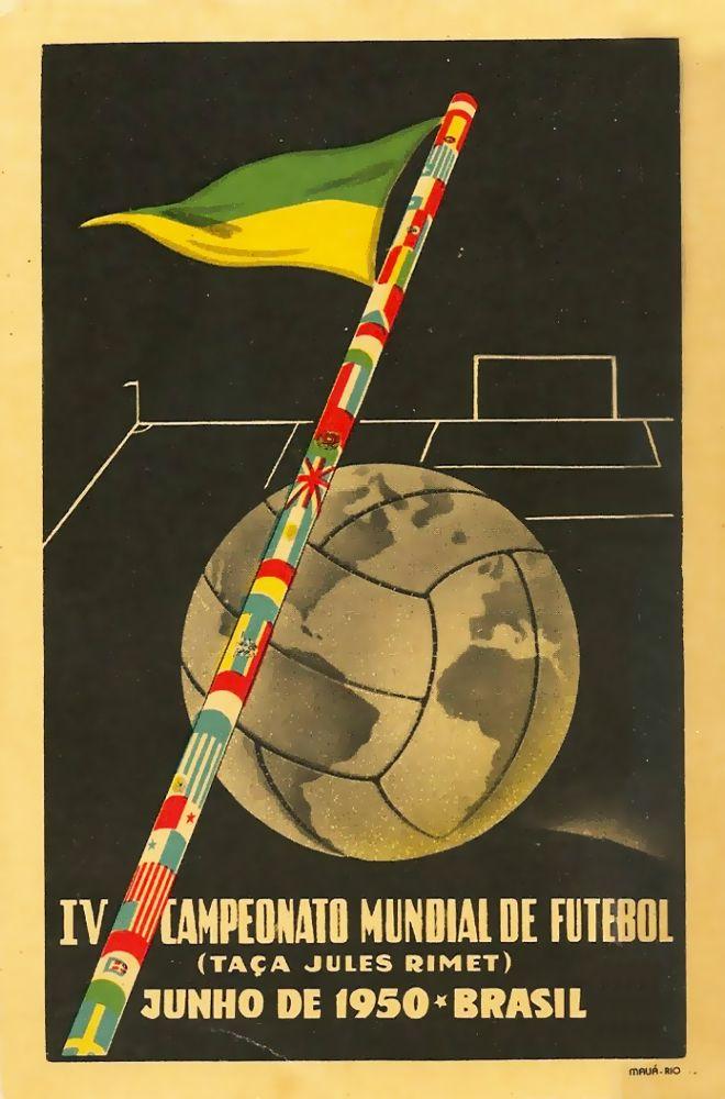 FIFA World Cup 1950 Postcard