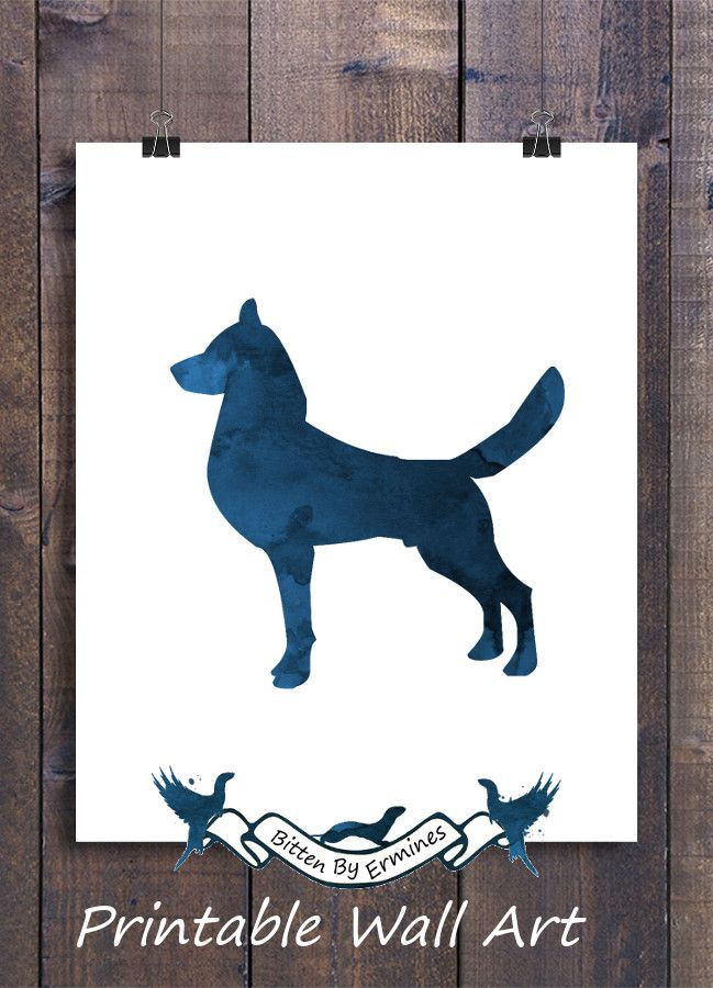 Navy Dark Blue   Nursery   Dog   Dogs   Dog Wall Art   Wall Decor ...