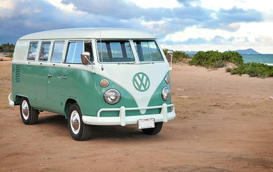 Old Volkswagen vans! I have officially decided I seriously