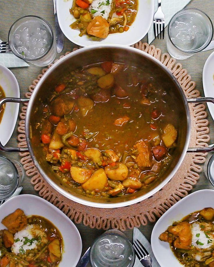 Nigerian Chicken Curry Recipe by Tasty