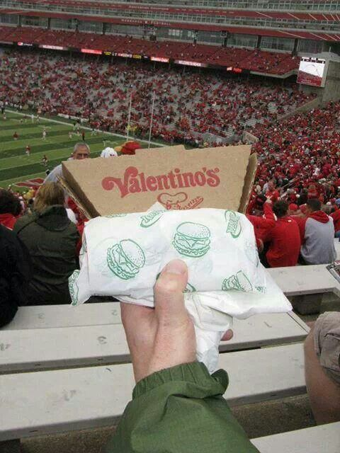 Nebraska summed up in a picture - it's SO true! The three best things about Nebraska are Runza, Valentinos, and the Huskers!