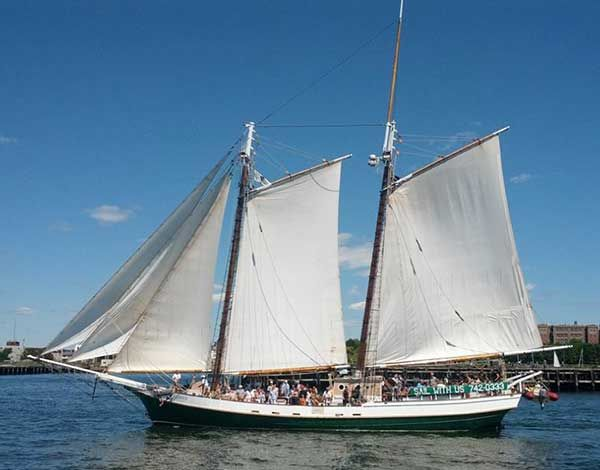 Boston Sailing Cruises Schedule and Rates - Liberty Fleet of Tall Ships Boston