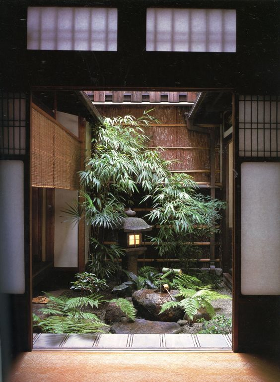 Nose Residence: Landscapes for Small Spaces: Japanese Courtyard Gardens, by Katsuhiko Mizuno: