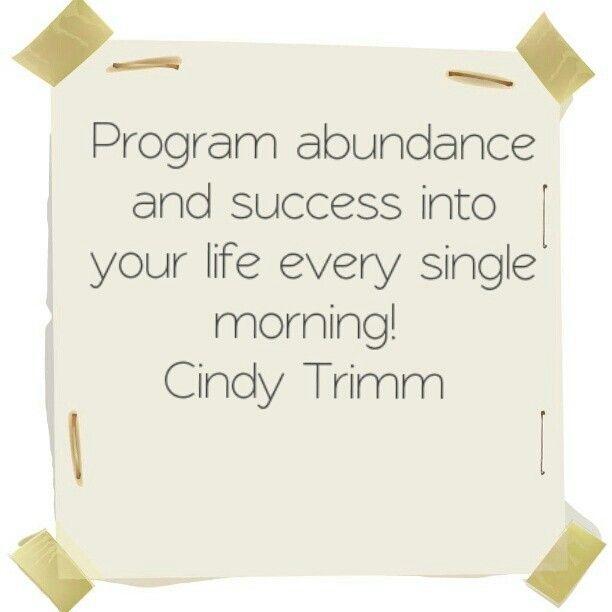 cindy trimm morning prayer pdf