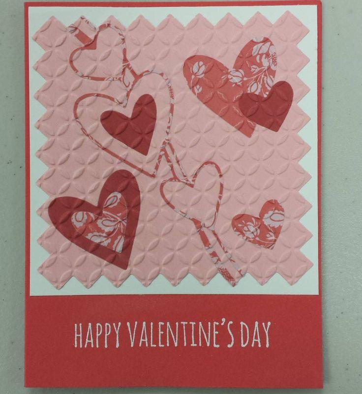 Faux quilted #valentinesdaycard #valentinesday #valentine #bemine #tmcanada #kamloops #kamloopsbusiness #kamloopsbc #northkamloops #northshorebusiness #lovemyjob #memorybox #spellbinders #spellbindersdies