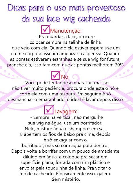 Black Wig Brasil: Dicas de manutenção da sua wig sintética