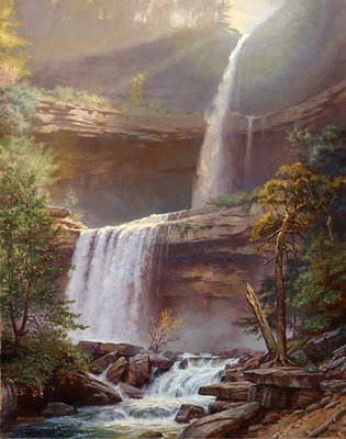 Kaaterskill Falls - Hunter, NY  one of my favorite places in the world