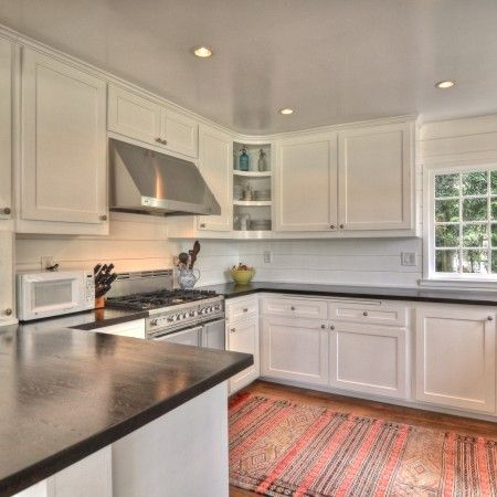 K Kitchens Ludlow Wood Countertop Pros and Cons Have you ever had a HIDEOUS kitchen that ...
