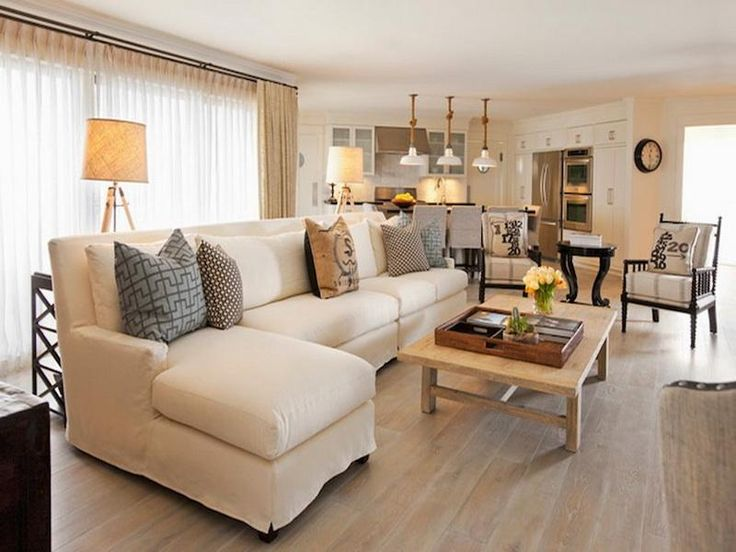 Cottage Style Living Rooms | Cottage Style Decorating Ideas: Modern Cottage Style Living Room ...