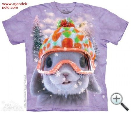 KARÁCSONYI NYUSZI gyermek és felnőtt The Mountain póló.