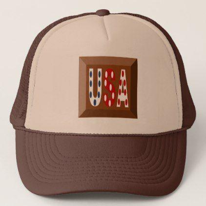 FAWN-COLOURED CAP TRUCKER MAROON SIGNAL DESIGN THE - accessories accessory gift idea stylish unique custom