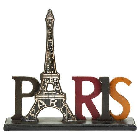 Paris Tabletop Decor