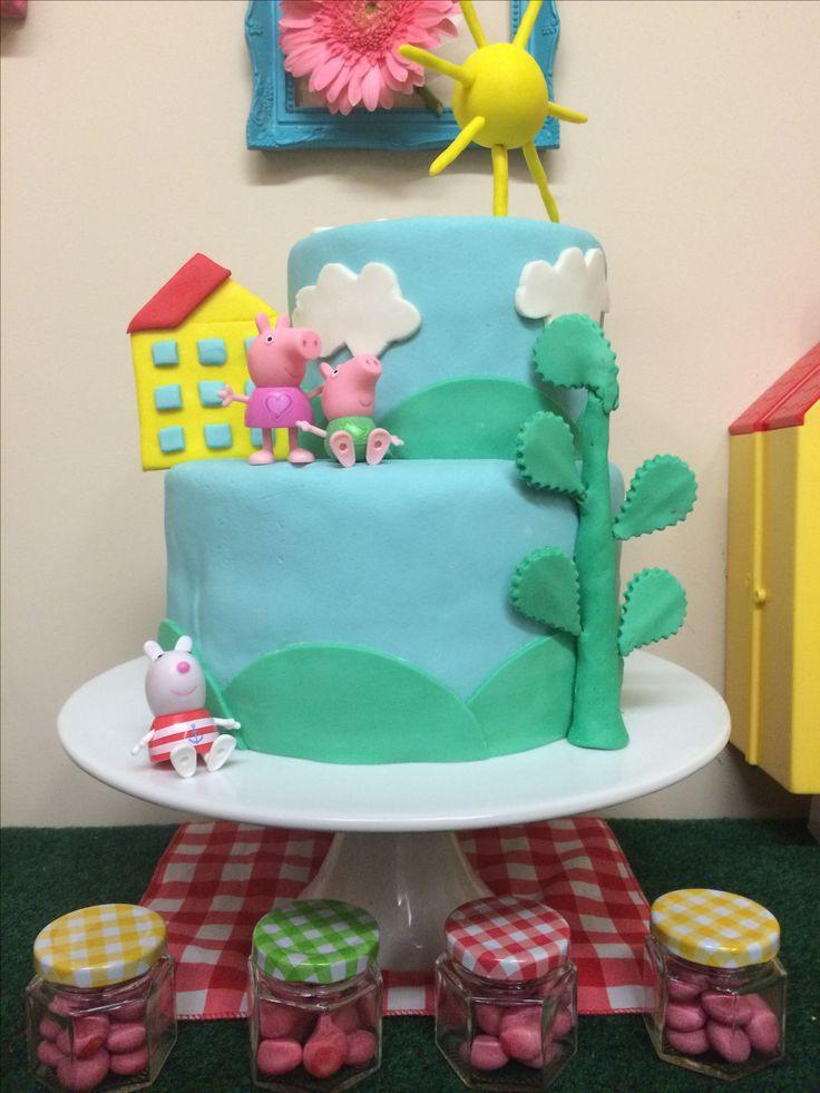 Cake Peppa Pig/ Pastel de Peppa Pig