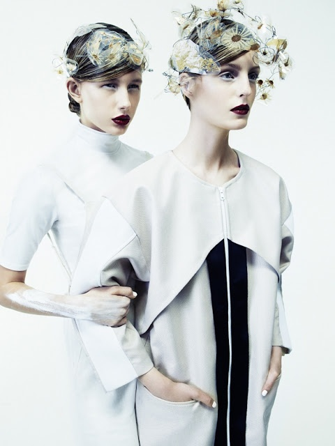 SENSE WARE - Cool Chic Style Fashion : Editorial | white | PULP #7 spring 2013