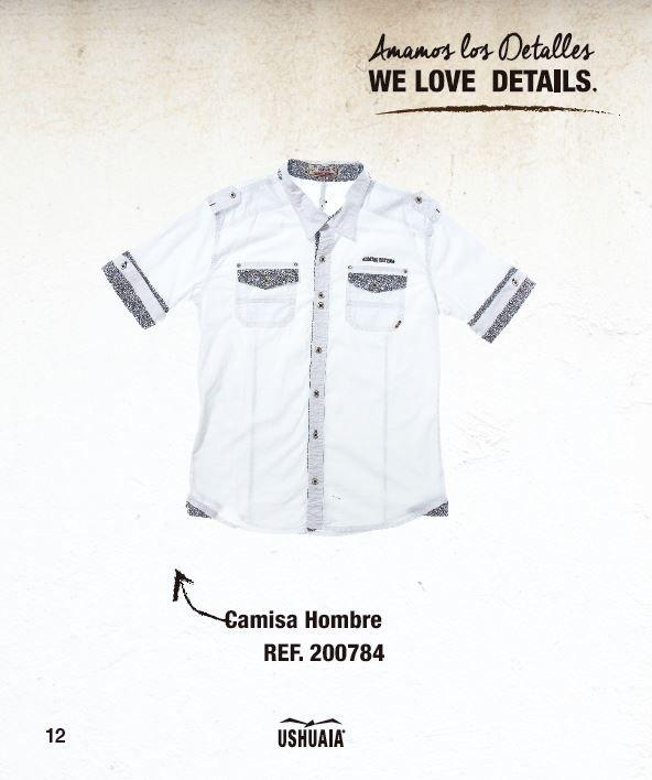 Camisa Hombre Ref: 200784 Talla: S-M-L-XL