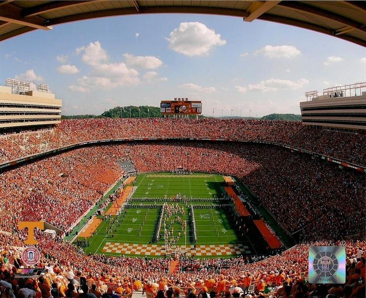 University Neyland Tennessee Stadium